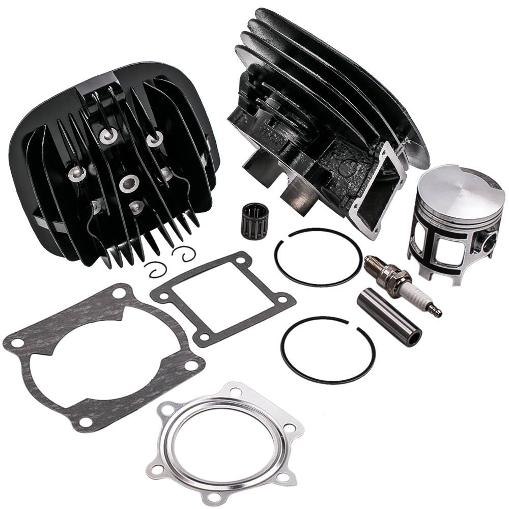 Para Yamaha Blaster 200 YFS200 junta de pistón de cilindro cabeza superior Kit de extremo 1988-2006 2XJ-11111-00-00 2XJ-11311-02-00