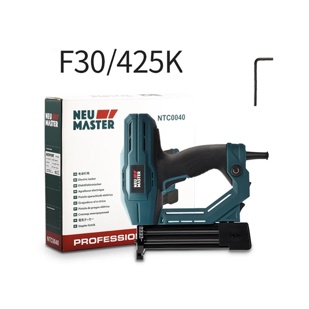 دباسة كهربائية للنجارة F30 220 K ، 425 فولت ، متعددة الأغراض ، للاستخدام المنزلي ، مسدس أظافر ، أثاث ، دباسة ، أدوات كهربائية للنجارة