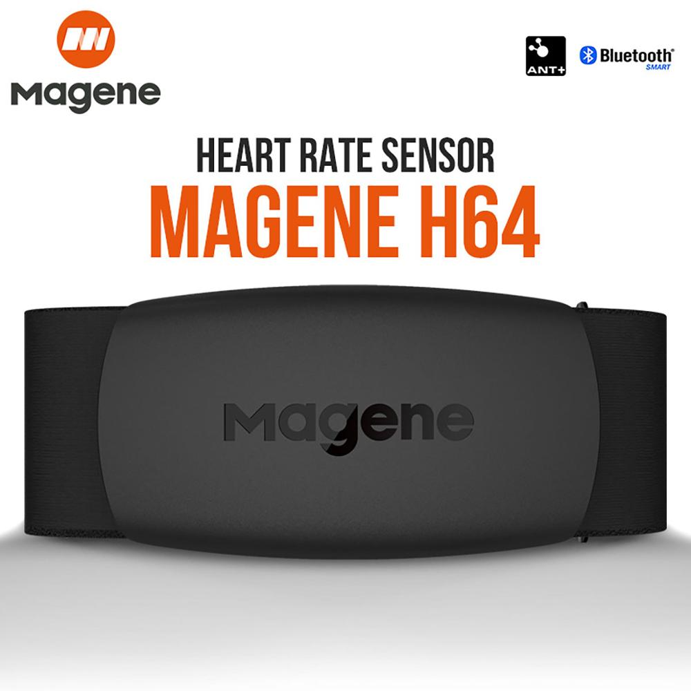 Magene Mover H64 심박수 모니터 Bluetooth4.0 ANT + magene 센서 가슴 스트랩 컴퓨터 자전거 Wahoo Garmin BT 스포츠 밴드