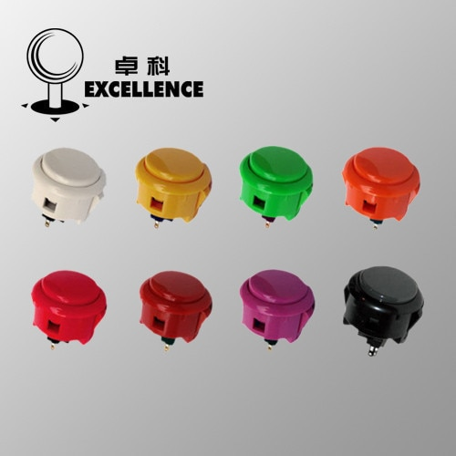 Rocker tres y botón OBSF-30 Botón de Arcade