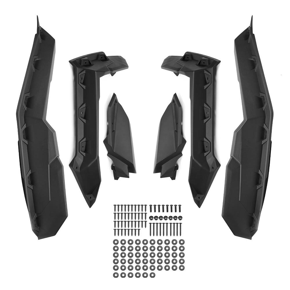 Super Extended Fender Flares UTV Accessories For Can Am Maverick X3 1000 Max Turbo R 2017 2018-2022 715002973