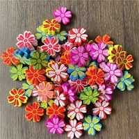 ju yuan 90pcs mixed batch car flower lollipop perforated connector spacer for jewelry making diy bracelet necklace accessories