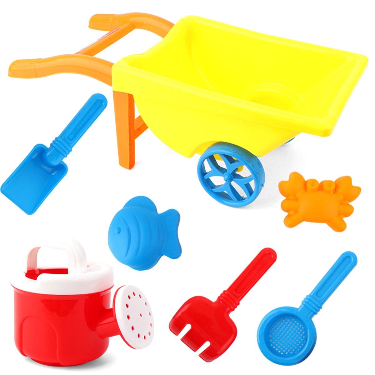 Bébé enfants plage jouet ensemble Silicone pelle trousse à outils enfants été plage jouer sable seau râteau bac à sable ensemble jouets