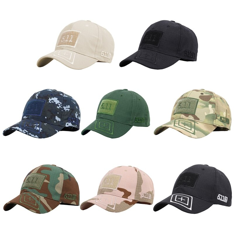 Outdoor Military Camouflage Adjustable Cap Mesh Tactical Jungle Army Airsoft Fishing Hunting Hiking Basketball Snapback Hat