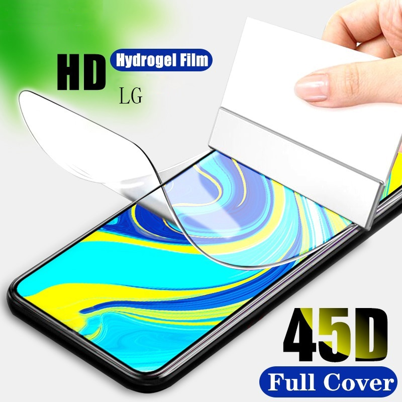 Гидрогелевая пленка для LG G8X G8S G8 ThinQ G7 Fit G6 Plus 9H HD защитная пленка для LG G7 One G7 ThinQ K3 2016 Защитные стёкла и плёнки      АлиЭкспресс