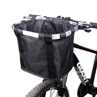 bicycle basket handlebar pannier cycling carryings holder bike riding pouch cycle biking front baggage bag 3 0kg load