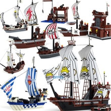 New  Ship Series Pirate Ship Black Pearl Block Building Block Sets Bricks DIY Gift Educational Toys for children