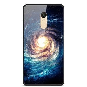 Glass Case For Xiaomi Redmi Note 4X Phone Case Phone Cover Phone Shell Back Bumper Series 2