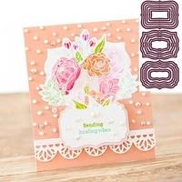 new label border metal cutting die scrapbook decoration embossed photo album decoration card making diy handicrafts