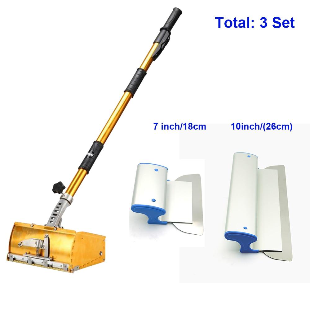 Charhs Drywall Master Tools set Plastering Flat Box 7