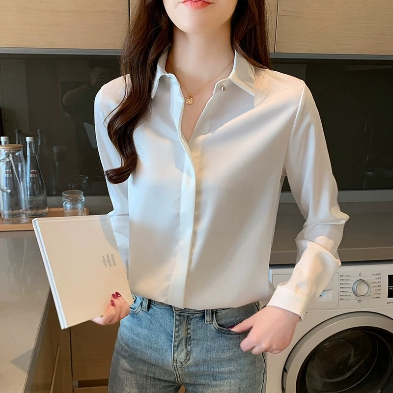T camisa beige mujer Top camiseta ropa de verano