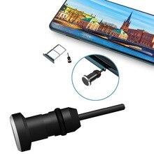 Enchufe antipolvo para auriculares, conector auxiliar de 3,5mm, interfaz Anti tarjeta de teléfono móvil, Pin de tarjeta de recuperación para Apple Iphone 5, 6 Plus, PC y portátil