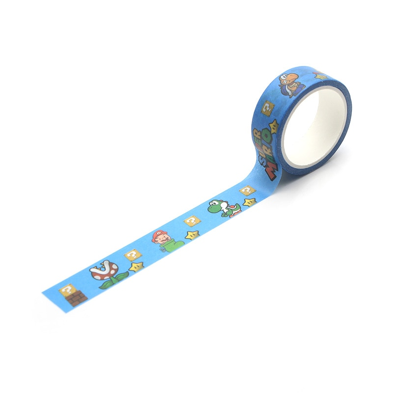 FD0470 A Game Cartoon Masking Tape Adhesive Tapes Stickers Decorative Stationery Matte Tapes