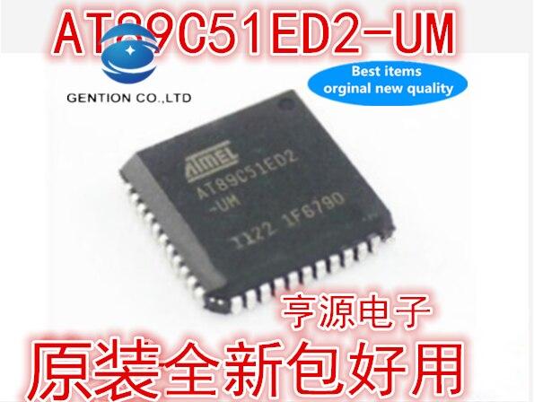 Novo e Original Pces Foto Real At89c51ed2 At89c51ed2-um Novo Chip Importado 5 100%
