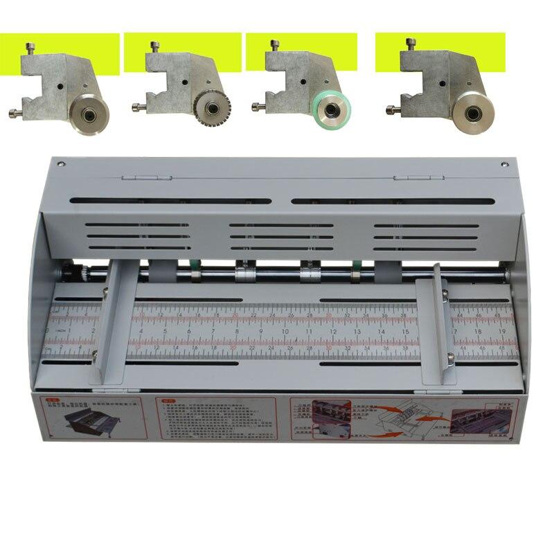 A3 elétrica papel vincando máquina 460mm livro capa vincando corte e vincando creaser máquina de vincar papel elétrico