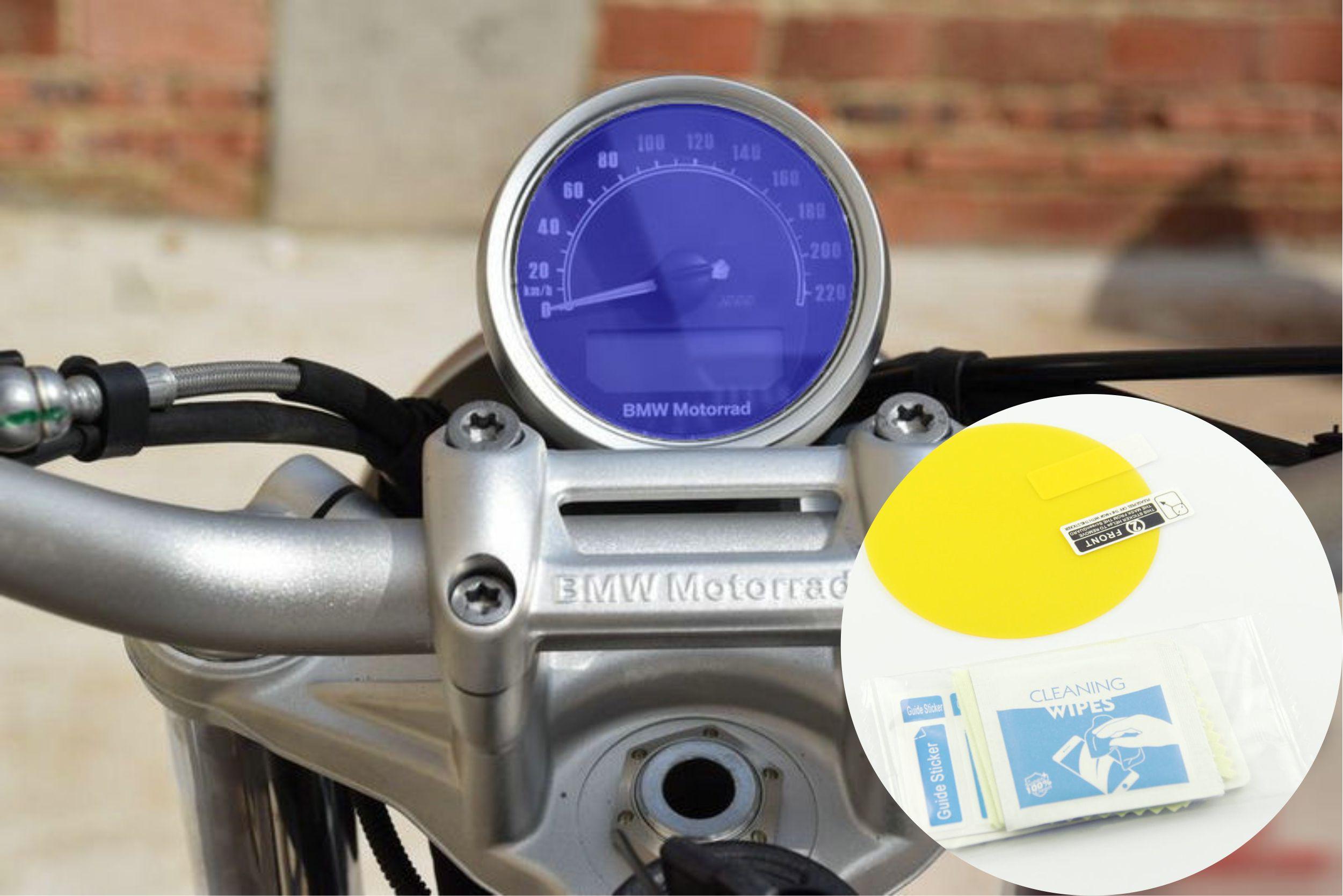 Tablero de instrumentos de protección contra arañazos, Protector de pantalla de velocímetro, pegatinas protectoras para BMW R NINE T SCRAMBLER 2016-2017