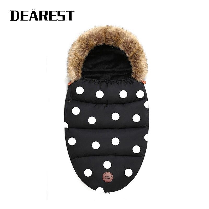 Dearest Envelope In A Stroller Baby Sleeping Bag Winter Socks Sleep Bag Windproof Warm Sleepsack Baby Footmuff For Stroller