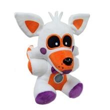 18cm FNAF pięć nocy w lokalizacji siostry freddyego Funtime Fox Foxy pluszowe zabawki miękkie zabawki pluszowe lalki na prezent dla dzieci