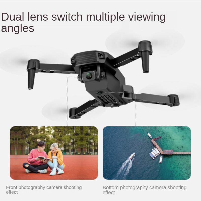 New E58 Remote Control Uav Folding Anti-Shake 4K HD Dual Photography Wifi Aerial Photography Quadrotor Toy Long Endurance enlarge