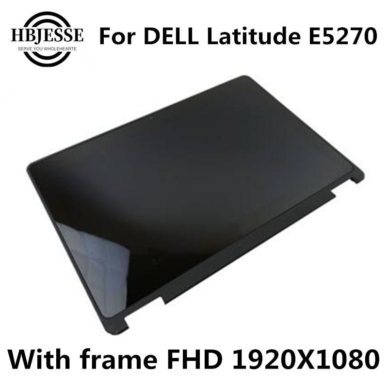 اختبار جيد لشاشة LCD مقاس 12.5 بوصة تعمل باللمس ، مجموعة بديلة لجهاز DELL Latitude E5270 FHD 1920X1080