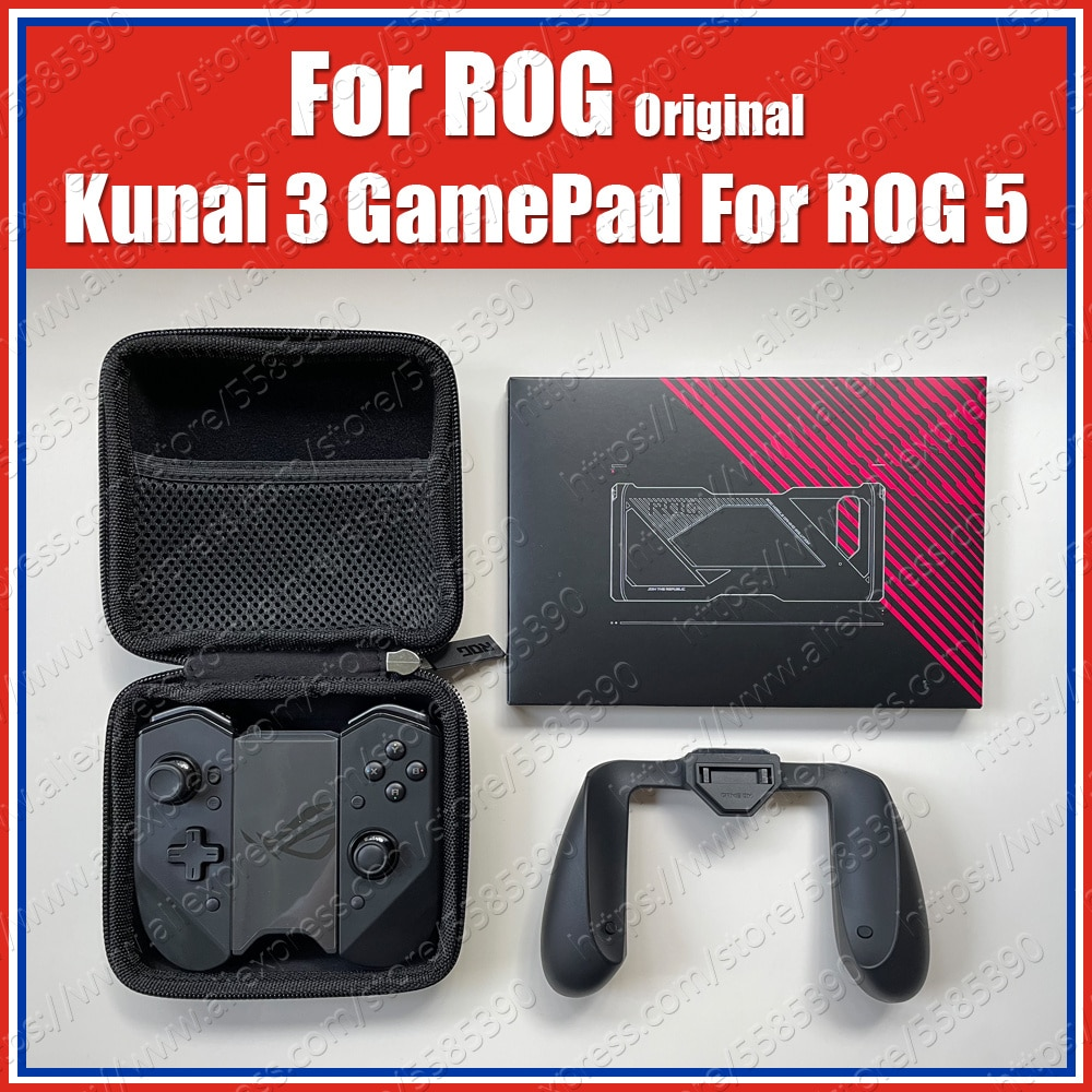 ZS661KSCL Original ROG 5 Kunai 3 Gamepad For ASUS ROG Phone 5 Controller Slide Out Case Gaming Joystick With Game Handle