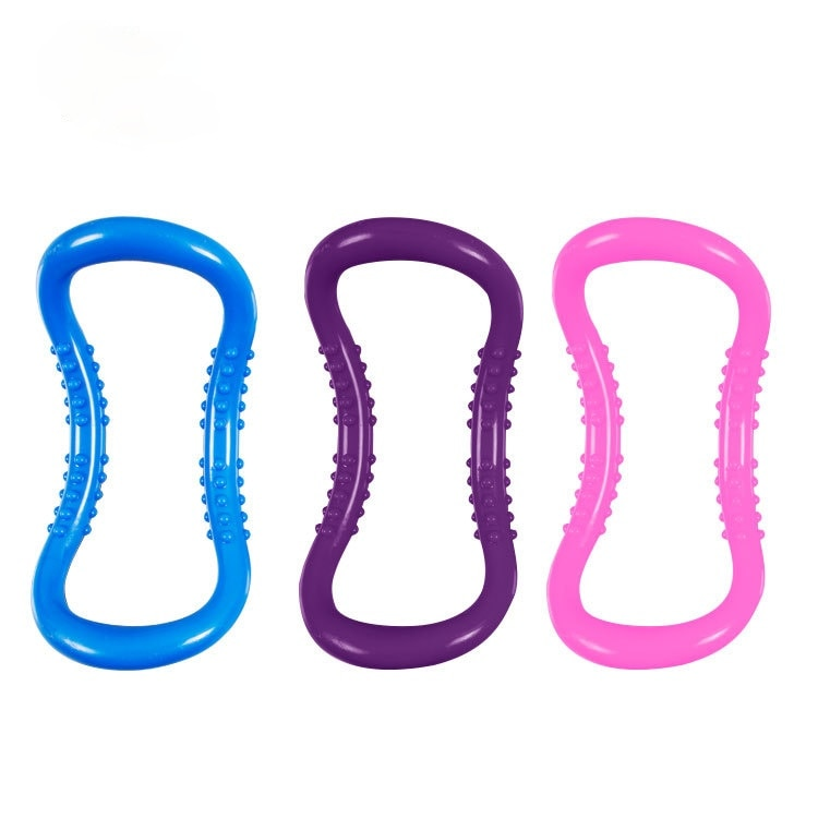 Fascia Stretch Yoga Ring Open Back Beauty Magic Circle Pilates Fitness Ring Yoga Equipment