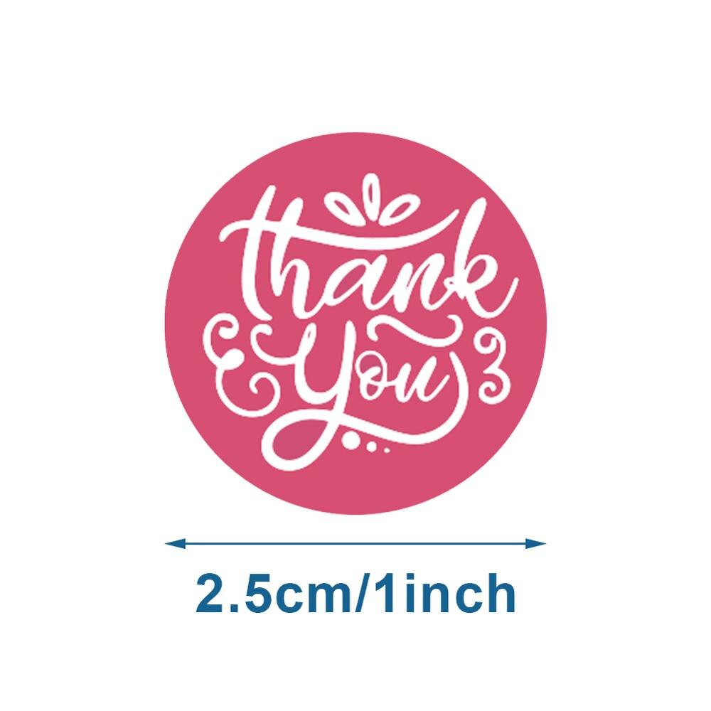 Wholesale 1 inch thank you seal stickers/ 8 different designs, thanks to handmade crafts decoration stickers stickers
