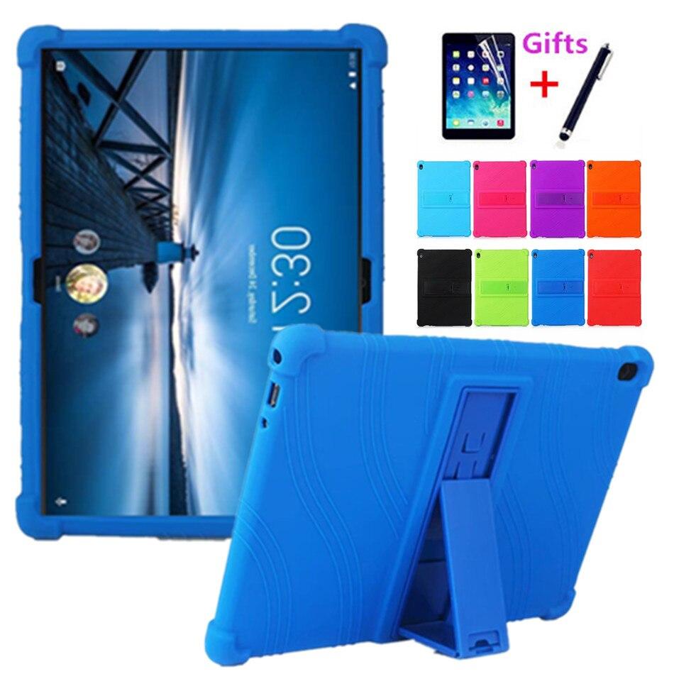 "Para Lenovo Tab M10 FHD más TB-X606F TB-X606X 10,3 ""funda de silicona suave para Lenovo Tab P10 M10 10,1"" Tablet de Capa"