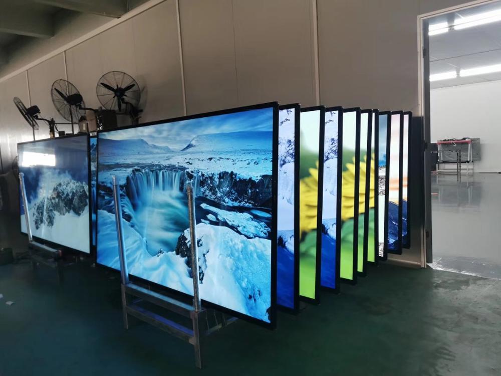 Fabrik Günstige Flach Bildschirm Fernseher, 75 Zoll China Smart Android LCD LED TV 4K