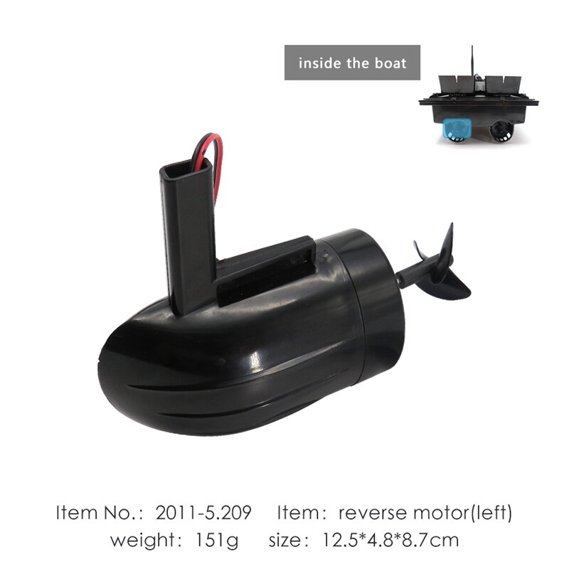 for Flytec 2011-5 Fishing RC Boat Left Side Reverse Motor Parts Accessories for Upgraded 2011-5 Bait Boat enlarge