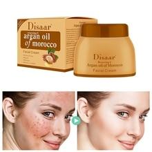Huile dargan crème réparatrice éclaircit Blemish crème visage sérum soin de la peau Anti-âge Lifting raffermissant visage crème lisse 50g R1