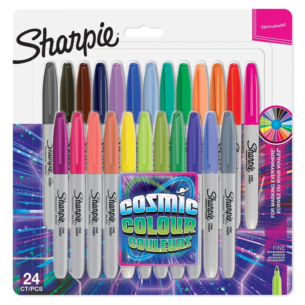 8/12/24 шт набор Sanford Sharpie масляные маркеры, цветные маркеры, художественная ручка, Перманентный цветной маркер, канцелярские принадлежности, 1 ...