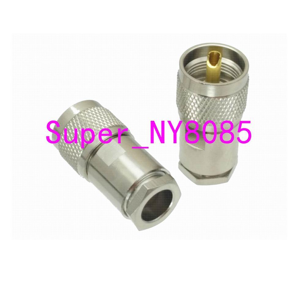 Штекер UHF PL259 RG8 LMR400 RG165 RG213 RF разъем