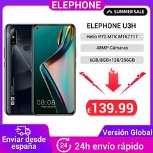 "Global Version ELEPHONE U3H 128GB 256GB Helio P70 Smartphone 6.53"" Screen 48MP Dual Rear Cam 24MP Selfie Face Unlock Android 9"