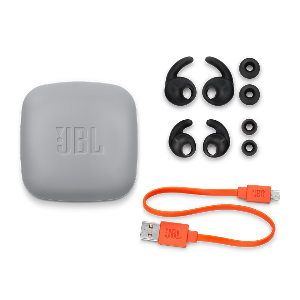 JBL Reflect Contour 2 Wireless Bluetooth Sport Headphones 3-Button Remote with Mic IPX5 Sweatproof Gym Headset Bass Earphones enlarge