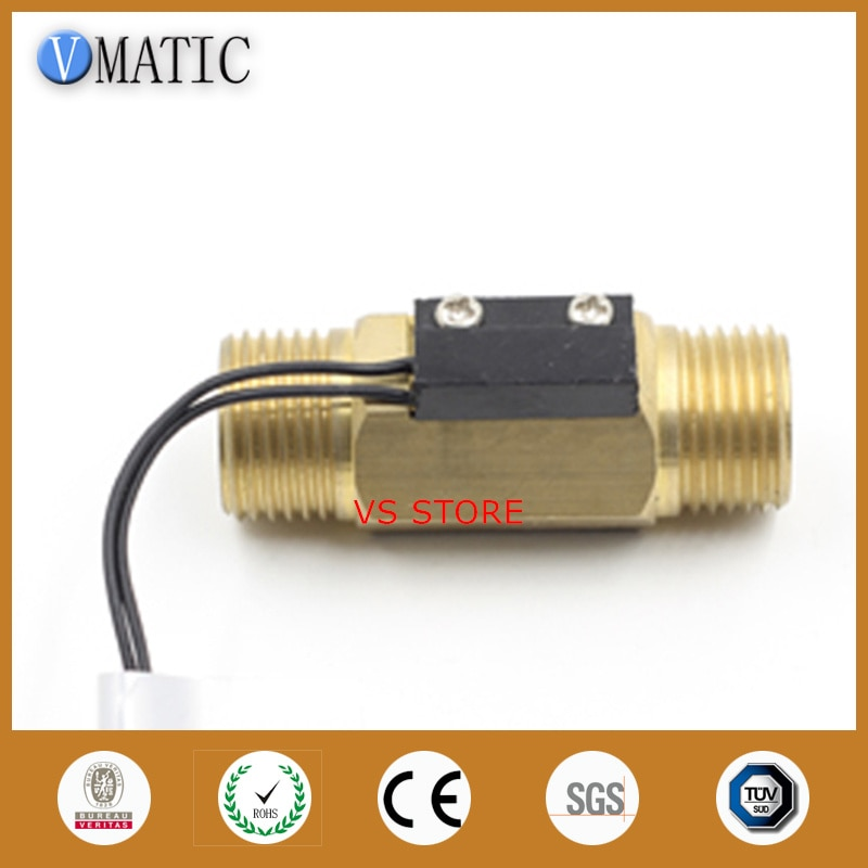Free Shipping VC2260 Electronic Fuel Sensor Housing Brass Water Flow Control Switch