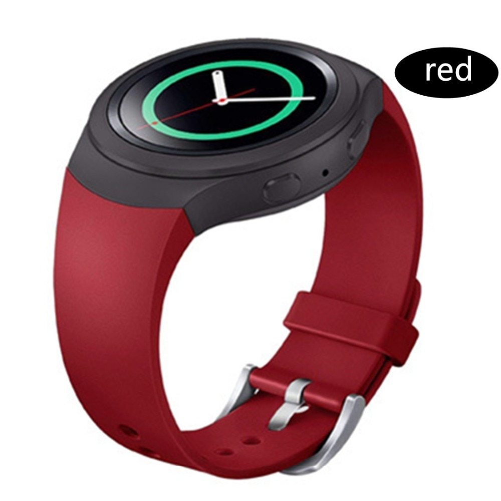 Sport Strap For Samsung Galaxy Gear S2 band R720 R730 Smart Watch Band Silicone wrist bracelet correa watchband belt Accessories