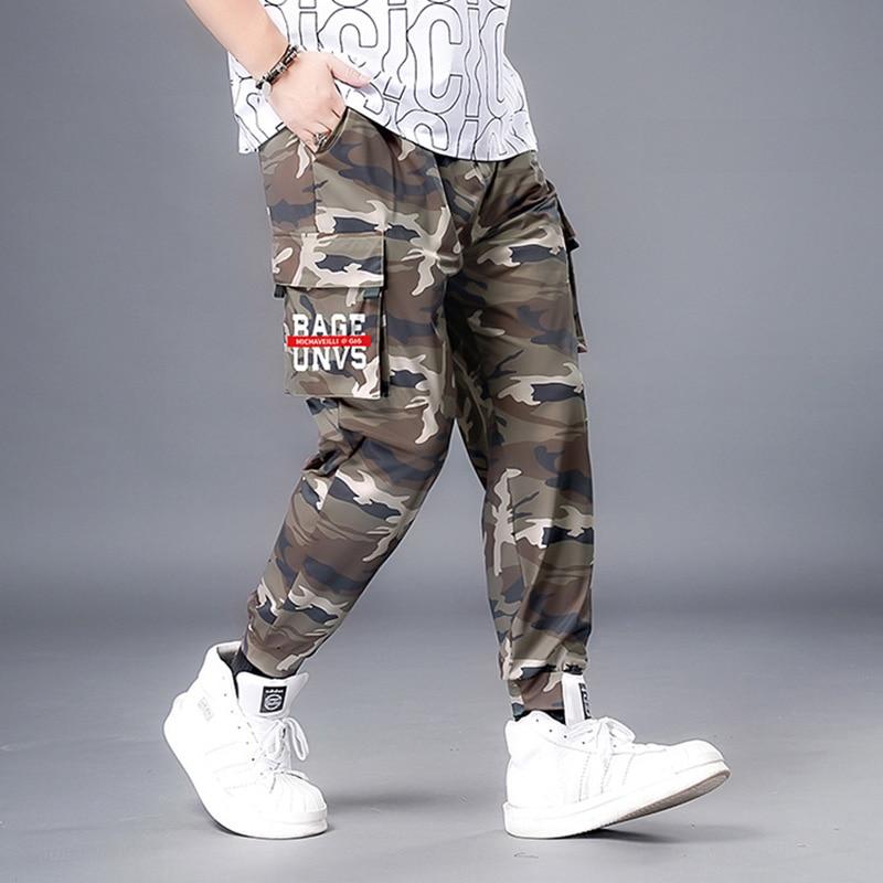 Брюки-карго мужские камуфляжные с множеством карманов, хлопковые камуфляжные брюки в стиле милитари, армейские тренировочные штаны, улична...