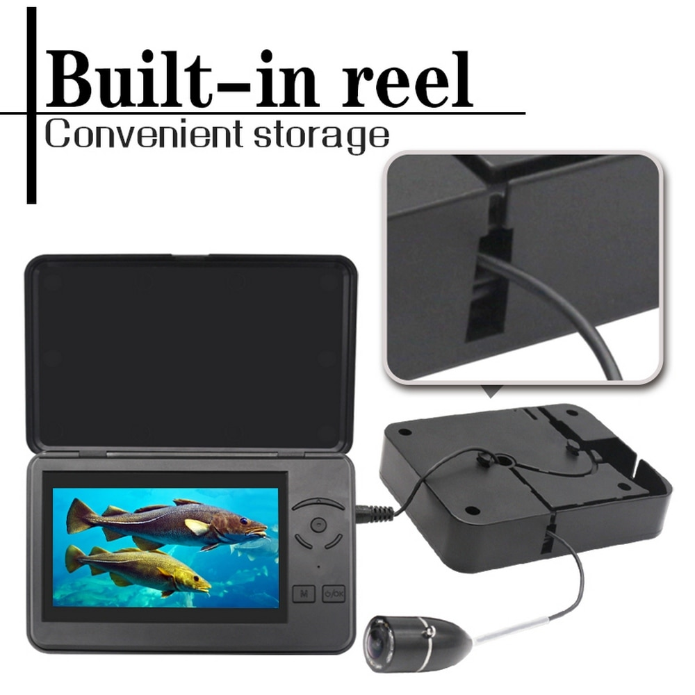 Fishfinder HD Anchor Fish Ice Fishing with Video Underwater Ice Carp Fishing Camera 4.3-inch Display 140 Degree Wide Angle Lens enlarge
