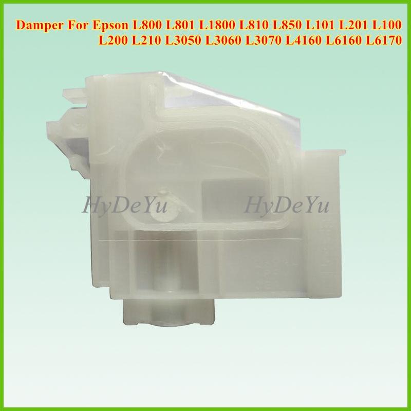 Amortecedor de Tinta Para Epson L800 1PCS Original L801 L1800 L810 L850 L101 L201 L100 L200 L210 L3050 L3060 L3070 l4160 Impressora Jato de tinta
