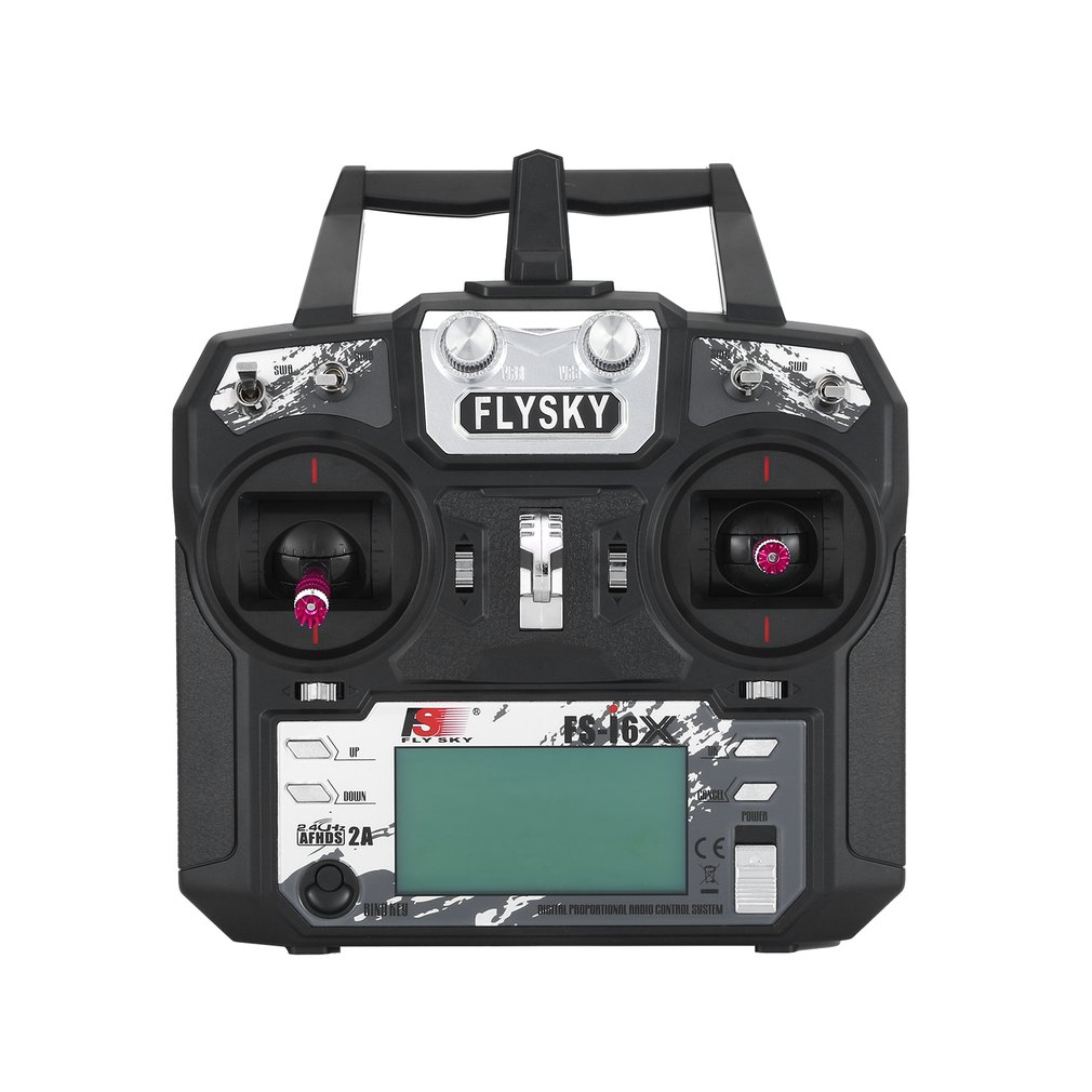 FLYSKY FS-i6X I6X 2.4G 10CH AFHDS 2A Transmitter With Receiver For RC Airplane Helicopter FPV Drone enlarge