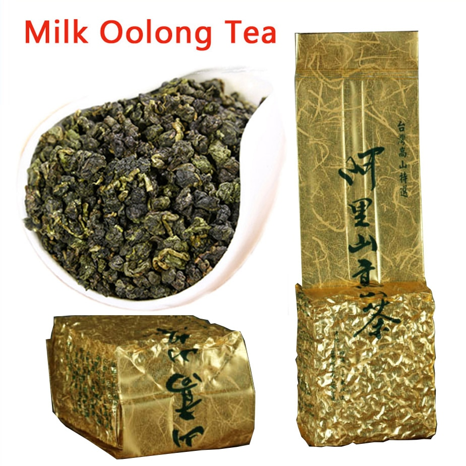 Té de leche Oolong, Té alpino Alishan, té verde orgánico chino 300g