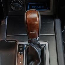 Для Toyota Land Cruiser Prado 150 2010 2011 2012 2013 2014 2015 2016 2017 персик текстура древесины переключения передач Замена аксессуары