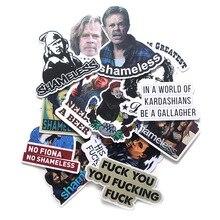 13pcs Shameless funny Creative badge DIY decorative stickers kids DIY wall notebook phone case scrapbooking album