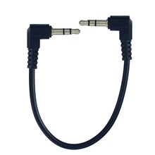 16cm 25cm 3.5mm To 3.5mm Male Jack Audio Cable Car Aux Cord for iphone Samsung Xiaomi MP3 Speaker
