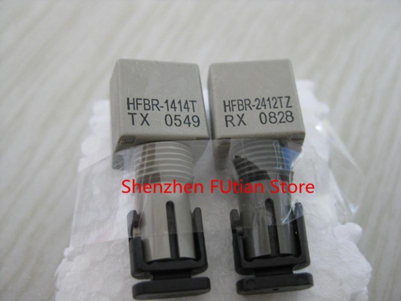 2pcs/أزواج HFBR-1414T HFBR-2412TZ البريدي-8 HFBR1414 HFBR2412 في الأسهم