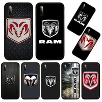 camo dodge ram logo poster phone case for huawei p9 p10 p20 p30 p40 novi lite pro smart cover