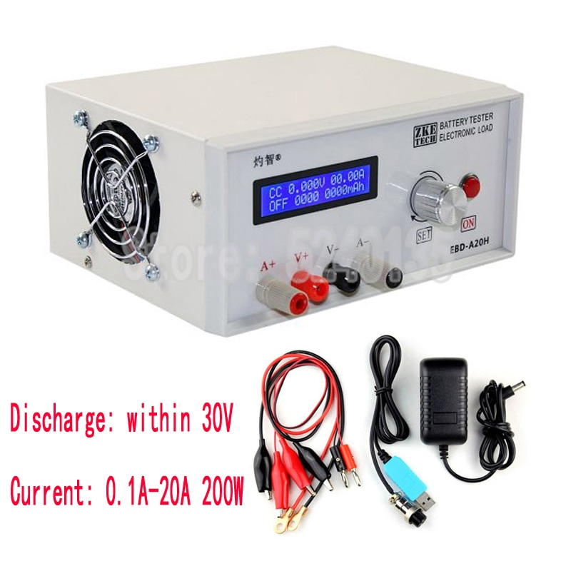 EBD-A20H Electronic Load Battery Capacity Power Supply Charging Head Tester Discharging Equipment Di