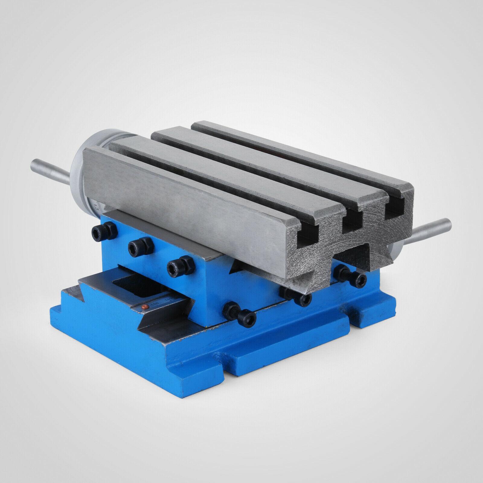 Milling Cross Worktable (7.3 x 4 Inch) Compound Slide Milling TablePrecision enlarge