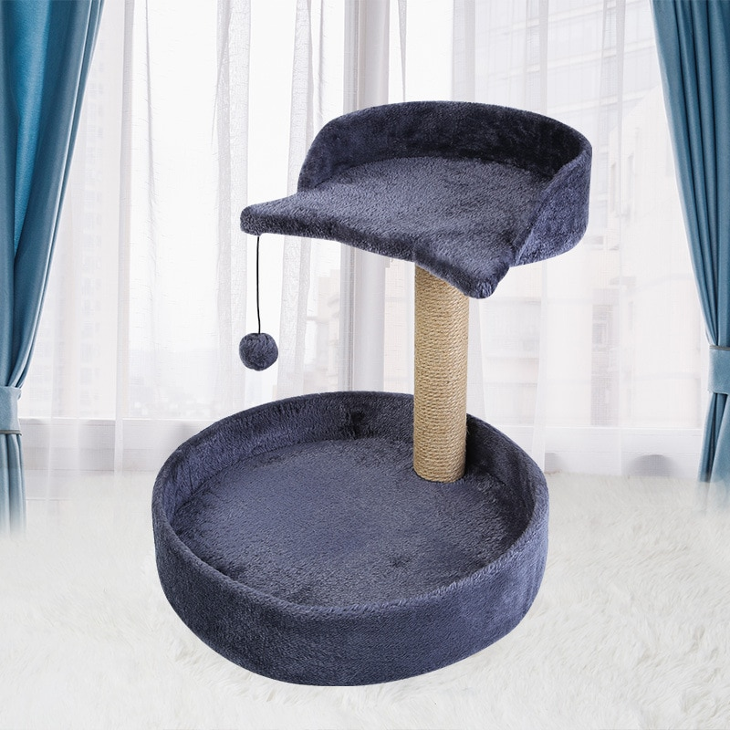 Sisal Cat Climbing Frame Cat Scratching Board Cat Scratching Post Cat Toy Wear-resistant Bite-resistant Grinding Claw Tool